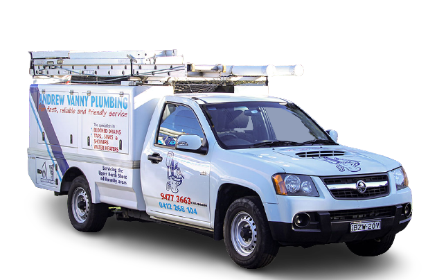 andrew vanny plumbing trucks plumber wahroonga
