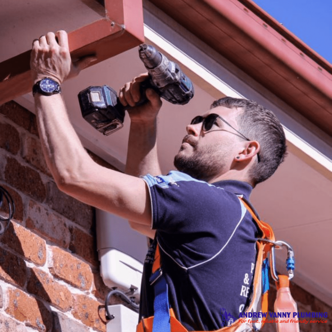 avp asquith plumber in action